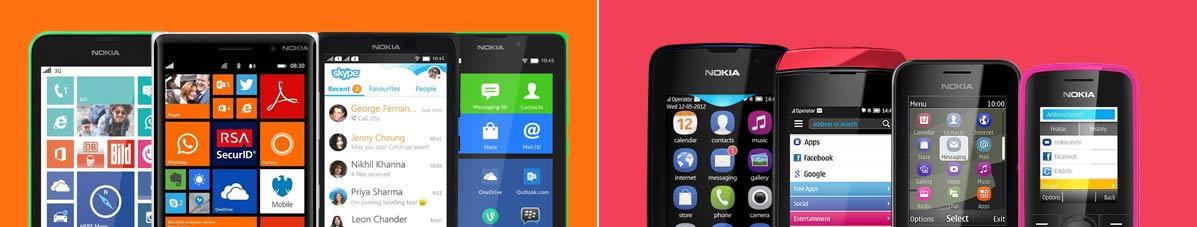 Nokia mobiles long