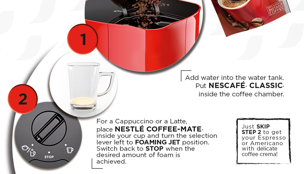 Coffee Mate Coffee Maker Not Working : NESCAFE Red Mug Coffee Maker with FREE Transparent Glass,NescafeClassic and Nestle Coffee-mate ...