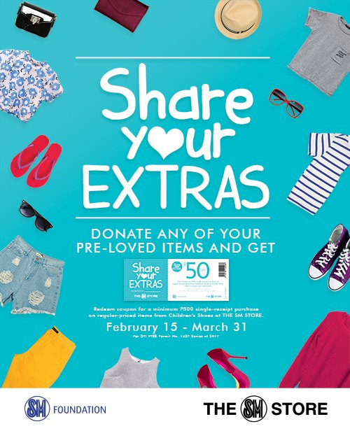 share your extras