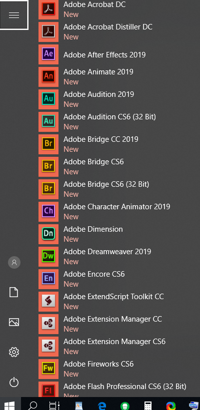 Adobe Master Collection 2019 COMPLETE ADOBE SOFTWARES 32 bit and 64 bit -  ONE CLICK INSTALLATION - LIFETIME LICENSE - PREACTIVATED - NO EXPIRATION -