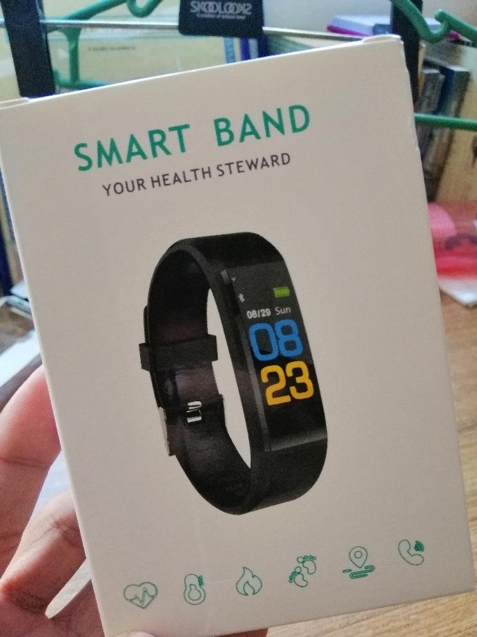 SA Bluetooth Smart Watch Heart Rate Blood Pressure Monitor Fitness Tracker  Bracelet
