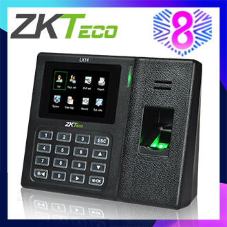 ZKTeco 2.8 inch TFT USB Biometric Fingerprint Time Attendance Machine Time Clock Recorder Employee Checking-in/out Reader LX14