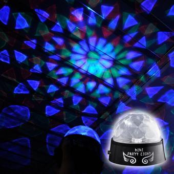 Colorful Rotating Party LED Light for DJ Disco Stage EffectLighting - intl