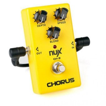 Nux CH-3 Chorus Guitar Pedal True Bypass Design Electric Guitar Effects Pedal