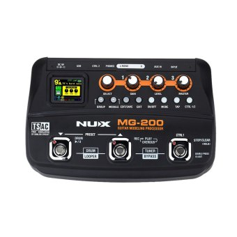 NUX MG-200 Guitar Modeling Processor Guitar Multi-effects Processorwith 55 Effect Models