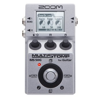 Zoom MS-50G Guitar Effects Pedal (Grey)