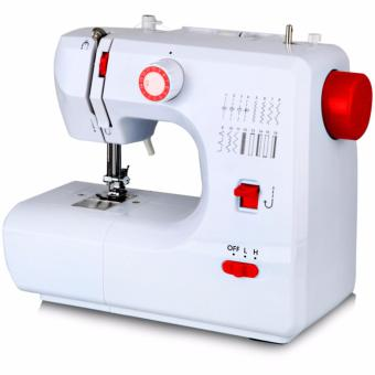 LHR FHSM-700 Double Thread Automatic Pedal Multi Sewing Machine(White/Red)