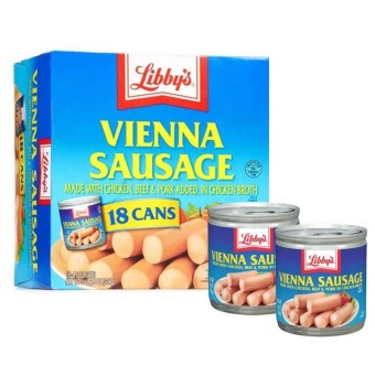 Libby's Vienna Sausage 5oz (Pack of 18)