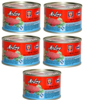 Pork MaLing Luncheon Meat 170g Set of 5