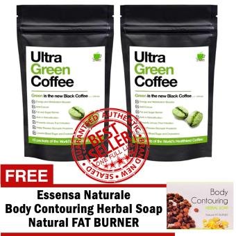 Ultra Green Coffee Sets of 2 with FREE Body Contouring Soap