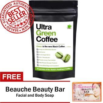 Ultra Green Coffee with FREE Beauche Beauty Bar