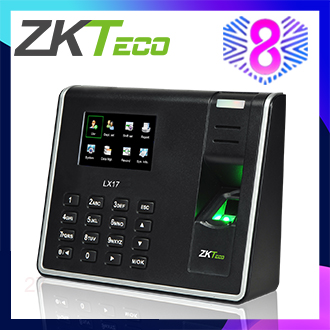 ZKTeco 2.8 inch TFT USB Biometric Fingerprint Time Attendance Machine Time Clock Recorder Employee Checking-in/out Reader LX17
