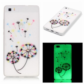 Back Case For Huawei P8 Lite Case Silicone Cover Transparent TPU For fundas Huawei P8 Lite