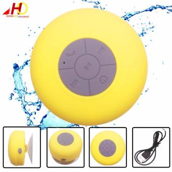 BTS06 Wireless Bluetooth Water Resistant Mini Portable Speaker (Yellow)