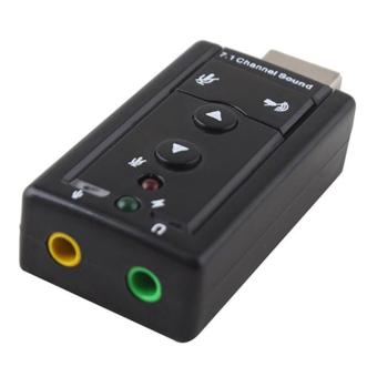 BUYINCOINS USB 2.0 Virtual Channel Audio Sound Card Adapter