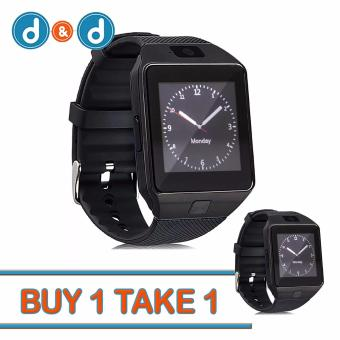 D&D DZ09 Bluetooth Touch Screen Smart Watch with Camera Buy 1 Take 1