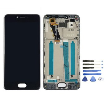 For MEIZU M3S MEILAN 3S Black Lcd Display With Original FrameScreen Replacement Digiziter Aseembly - intl