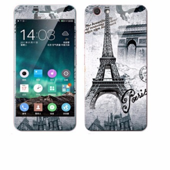... Luxury 3D Painting Front Back Full Case Cover Color Tempered Glass Case For Vivo Y53