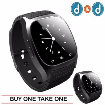M26 Bluetooth Smart Watch for Android Samsung Phone (Black) (BUY 1 TAKE 1)