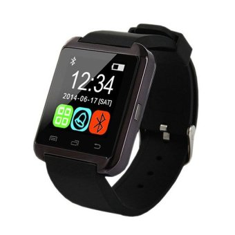 M8 Bluetooth Touchscreen Smart Watch best quality(Black)