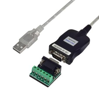 MENGS(R) USB 2.0 To RS232/ RS485 / RS422 DB9/M Serial Port DeviceConverter With 1M Adapter Cable