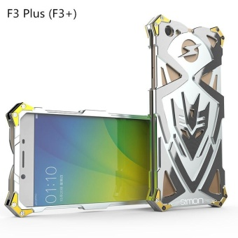 Metal Casing Smartphone Cover Bumper Case For OPPO F3 Plus (F3+) -intl