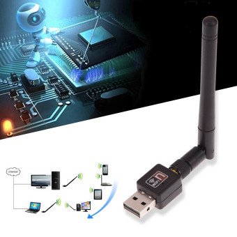 Mini 150Mbps USB2.0 Wireless WIFI Network Card Receiver forComputer