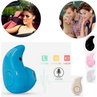 Mini Wireless Bluetooth 4.0 In-Ear Stereo Headset Headphone for Smart Phones Earphone Earpiece S530 - intl