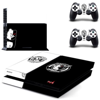 new Danganronpa: Trigger Happy Havoc decal PS4 Skin Sticker For Sony Playstation 4 Console protection film +2Pcs Controllers protective cover - intl