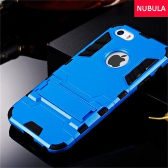 NUBULA 360 degrees Ultra-thin Hard Back Cover For iphone 5C Detachable 2 in 1