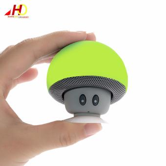 Portable Mini Mushroom Wireless Bluetooth Speaker (Green)