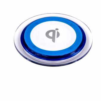 Qi Wireless Charger Pad (Blue/White)