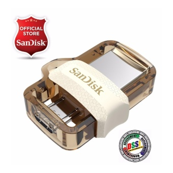 SanDisk Ultra SDDD3-032G 32GB OTG / Dual USB Drive M3.0 (Gold Edition) EXCLUSIVE MODEL