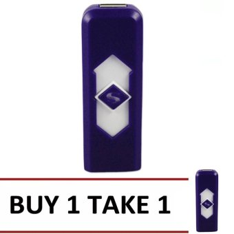 Smart Electronic Lighter (Violet) Buy 1 Take 1