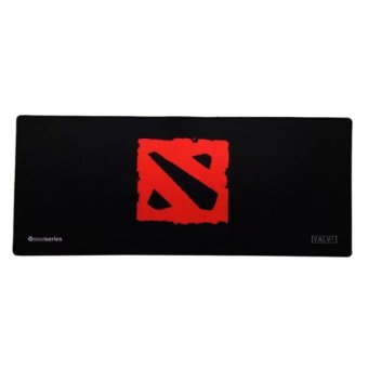 SteelSeries Long Extender Gaming Mouse Pad Large for Keyboard Mouse (Red/Black)