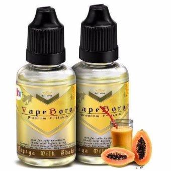 Vapeboro Premium E-Juice for Electronic Cigarette 30ml 6mg Nicotine Level Set of 2 (