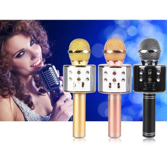 Wireless Karaoke Bluetooth Microphone HIFI Speaker