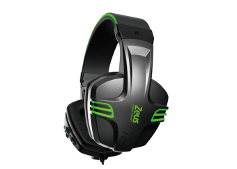 Zeus Zx-101 Professional Over-the-Ear Gaming Headphone (Green)