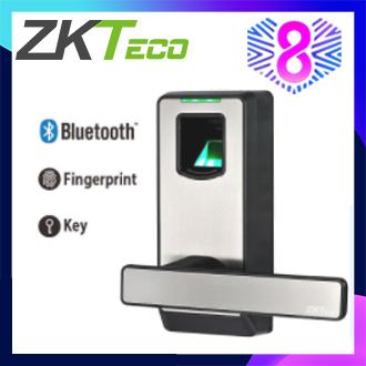 ZKTeco Biometric Fingerprint Smart Door Lock  Bluetooth Smart Phone Door Lock PL10B(free shipping)