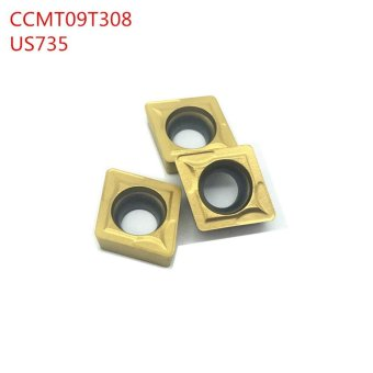 10Pcs CCMT09T308 US735 carbide tip Lathe Insert ,, thelather,boring bar,cnc,machine,Factory Outlet - intl