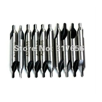 10pcs/lot,HSS BS4 Center Countersink Drill Bit Lathe Dia 3mm - intl