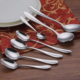 Exhibition to celebrate skillet coffee spoon stainless steel spoon