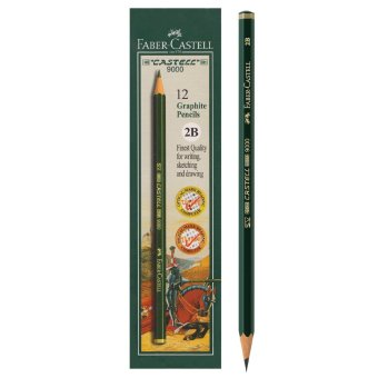Faber-Castell 9000 2B for Computer Pencils 1 box