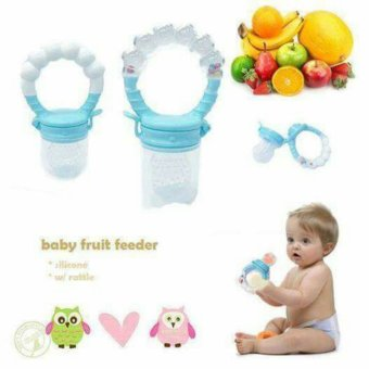 Baby Pacifier/Fruit Feeder-Blue