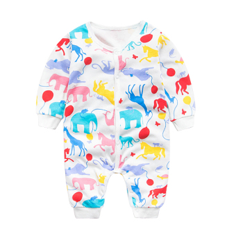 Beilaile casual baby one-piece newborns out clothes