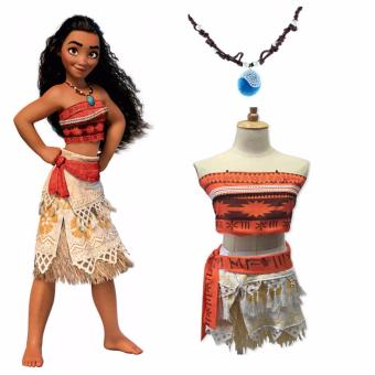 DCB Moana Costume for Kids with Necklace Size 140cm Age 8-9 years  sc 1 st  Online Prices Philippines Online Market August 2018 & Buy Carters Costume Giraffe 6 9 Mos For Shopping - Info Price And ...