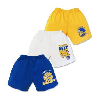 NBA Baby - 3-piece Shorts (Next Big Thing - Warriors) 6-9 Months