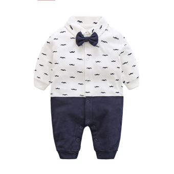 Qiudong cotton one-piece newborns crawling clothes baby romper