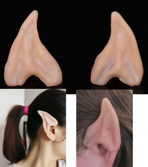 Saling Elf Fairy Hobbit Alien Horror Cosplay Halloween Costume Ears Tips