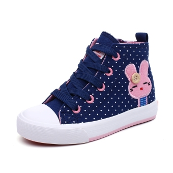 Warrior hight-top Korean-style shoes children's shoes